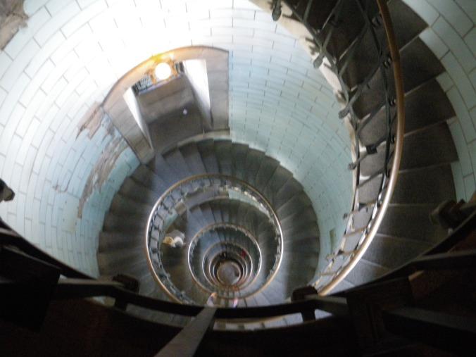 escalier du phare